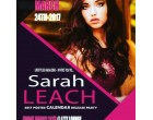 Sarah Leach, 2017 Poster Calendar Release Party, MARCH 24th