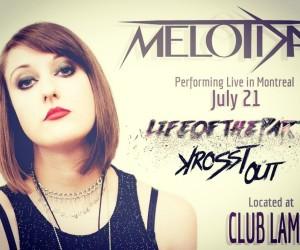 Melotda Performing Live