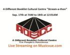 "A Different Booklist Cultural Centre ""Stream-a-thon"""