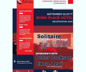 Canadian Urban Music Conference  Sep 02, 2017