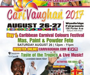CariVaughan Caribbean Festival Aug 26th