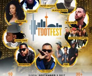 TDOT Festival, Sept 3rd