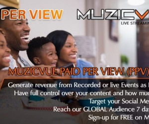 Muzicvue PAID PER VIEW on Muzicvue.org