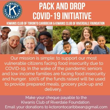 Kiwanis PACK & DROP COVID19 Initiative