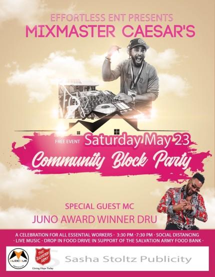 COVID19 Community Block Party