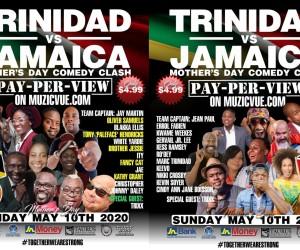 *TRINIDAD vs JAMAICA Mothers Day Comedy.